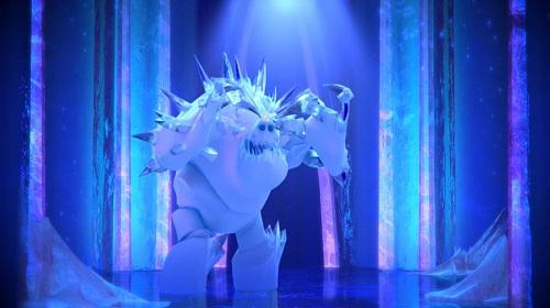 Marshmallow-frozen