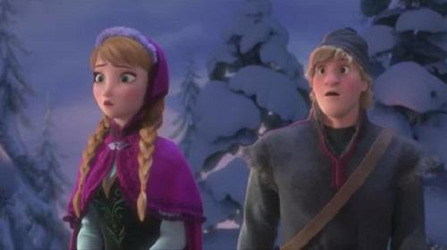 princesa anna y kristoff