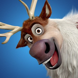 Sven el reno de Frozen