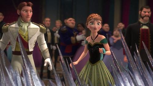 Anna se enfrenta alprincipie Hans
