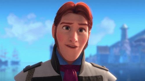 Caracterización del personaje Hans
