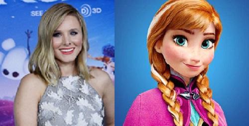 Elsa Saudades De Voces: Voces De La Película Frozen El Reino Del Hielo