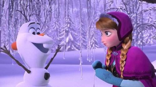 Olaf el personaje cómico de frozen-1