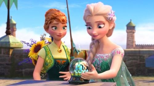 anna-y-elsa-Fiebre helada el cortometraje