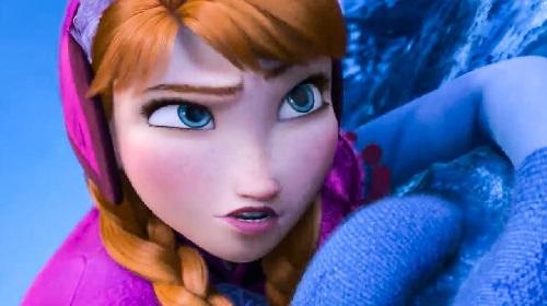 la personalidad de anna frozen